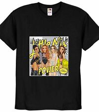 LITTLE MIX T SHIRT NEW JESY PERRIE LEIGH-ANNE JADE BLACK TOP