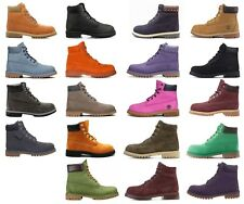 """Timberland Premium Classic 6"""" Inch Youth GS Boy Waterproof Boots"""