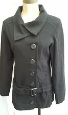 B.Angel Ladies Black Belted Winter Coat - new with tags -