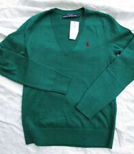 Ralph Lauren Damen Pullover/sweater Merino dark green Gr.XL**************NEU