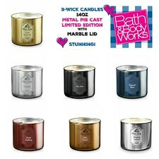 Buy 1 Get 1 50% OFF (add 2 to cart) Metal Pie Cast Bath and Body Works Candle