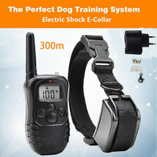 Rainproof Rechargeable Electric Control Dog Training Collar 300M Collar de perro