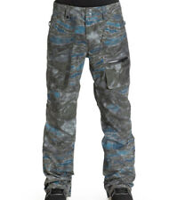 QUIKSILVER DARK AND STORMY PANT ARMY SPACE REFL