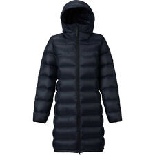 BURTON EVRGRN LONG HOODED DOWN JACKET TRUE BLACK