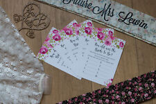 Hen Party Games Pack Bride to Be Night Do Fun Idea Bridesmaid Honour Groom Sash