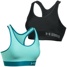 Under Armour Sport-BH Mid Bra Damen Fitness Top Mid Solid Kompression 1273504