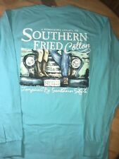 Southern Fried Cotton Men's First Date LONG SLEEVE TEE BNWTS