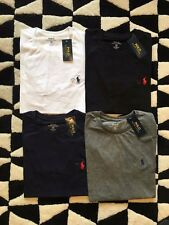 Ralph Lauren Polo Crew Neck Custom Fit Short Sleeve T Shirt NEW