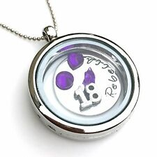 Personalised Memory Locket, 18th Birthday Gift for Girls, Personalised Necklace