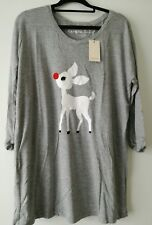 Ladies Simply Be Christmas top size 16 BNWT Baby Rudolf the Red Nosed Reindeer