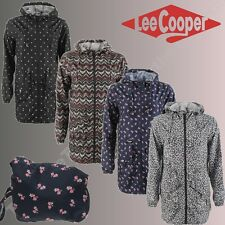 CHAQUETA DE LLUVIA CAZADORA LEE COOPER PACK HA PARKA KWAY IMPERMEABLE MUJER
