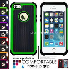 Apple Shockproof Silicone Hybrid Heavy Duty tough Protective Cover For iPhone