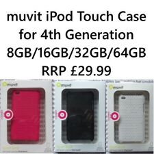 muvit iPod Touch 4 4G 4th Generation 8GB/32GB/64GB back case (BLACK/WHITE/PINK)