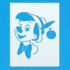 Pinocchio Nose Disney Character Mylar Airbrush Painting Wall Art Crafts Stencil