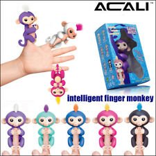 ACALI 3Pack Smart Finger Monkey Interactive Baby Monkey Kids Active Finger Toy