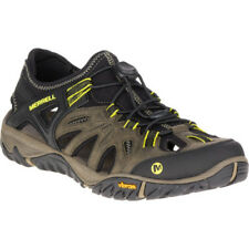 Merrell All Out Blaze Sieve Mens Footwear Aqua Shoes - Olive Night All Sizes