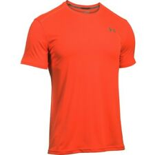 Under Armour Coolswitch Run Ss Mens T-shirt Sports Top - Phoenix Fire All Sizes