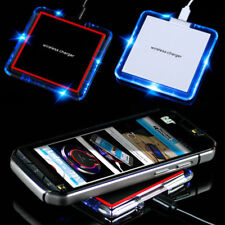 Qi Wireless Charger LED Ladestation für HTC Huawei Samsung iPhone oder Receiver