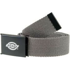 Dickies Orcutt Mens Belt Web - Charcoal Grey One Size