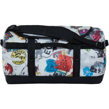 North Face Base Camp Small Unisex Bag Duffle - Tnf Red Sticker Bomb Decay Print
