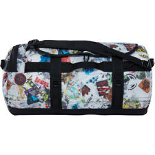 North Face Base Camp Medium Unisex Bag Duffle - Tnf Red Sticker Bomb Decay Print