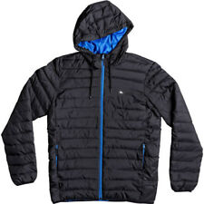 Quiksilver Everyday Scaly Mens Jacket - Black Turkish Sea All Sizes