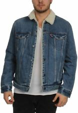 Levis Uomo Giacca in jeans TIPO 3 Sherpa CAMIONISTA 16365-0040 AGO PARK