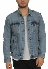 Levis Uomo Giacca in jeans THE Camionista Giacca 72334-0146 Icy