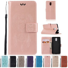 Luxury Flip Wallet Stand Card Slot Wax PU Leather Cover Case For Lenovo Models