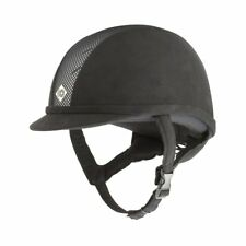 Charles Owen Ayr8 Unisex Safety Wear Riding Hat - Black/silver All Sizes
