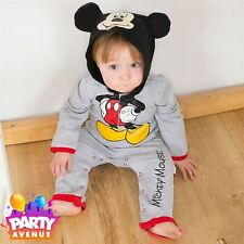 Disney Baby Mickey Mouse Romper Jersey Toddler Babies Costume Outfit