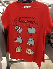 ALL SIZES Official PUSHEEN THE CAT Christmas T-Shirt Girls Funny Present Gift UK