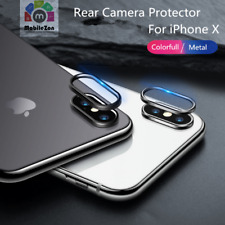 Apple iPhone X Back Camera Lens Metal Ring Guard Cover Protector