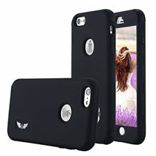 iPhone 6 Plus / 6S Plus Case Protective Cover Shockproof Soft Silicon Black