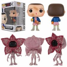 STRANGER THINGS/ FUNKO POP ELEVEN WITH EGGOS #421 #428 - VINIL FIGURE IN BOX