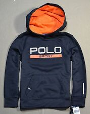 NWT KIDS BOYS POLO RALPH LAUREN SPORT PERFORMANCE PULLOVER JACKET HOODIE SZ 4-M