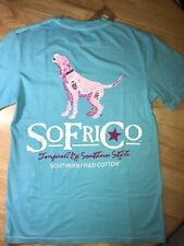 """Southern Fried Cotton """"Robbins Egg"""" Graphic Tee choose your size"""
