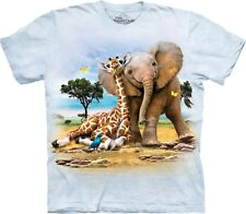 The Mountain Unisex Child Best Pals Zoo T Shirt