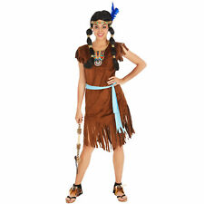 Costume da Indiana Donna Selvaggio West Nativo Americano Carnevale Halloween