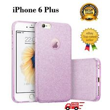 iPhone 6 Plus / 6S Plus Protect Back Sparkle Glitter Bumper For 6+ 16 32 64gb