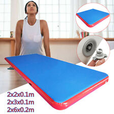Gonflable Tapis Gymnastique Air GYM Tumbling Track Cheerleading Training Mat