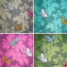 """""""Butterfly Garden"""" Cortina Made in France jacquard Thevenon"""