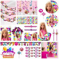 Barbie Sparkle Birthday Party Decorations Tableware Favours Balloon