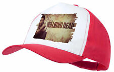 "CAPPELLO WALKING ""DEAD RICK LOGO"" ROJA RED CAP E'"