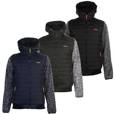 Lee Cooper Winterjacke Jacke Mantel Herren Winter Herrenjacke Jacket Padded 9087