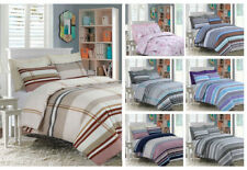 Duvet Quilt Cover with Pillow Case Bedding Set All Sizes with Stylish New design