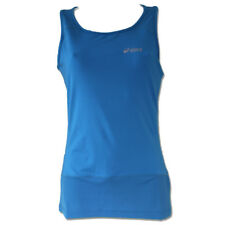 Asics Womens Duo Tech Active Wear Blue Running Vest Size Large