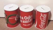 New COCA COLA Pound Notes & Coins For Kids & Adult Saving Money Tin Box
