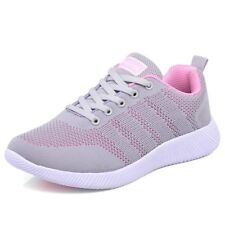 Mens Womens Lightweight Casual Lace Up Sneakers Trainer Breathable Running Shoes