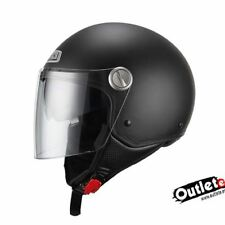CASCO NZI CAPITAL DUO NEGRO MATE CON GAFAS INTERIORES